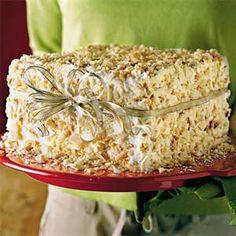 SL White Chocolate-Almond Cake