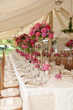 Tent Banquet Tables