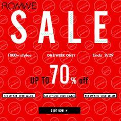 Blog a 4 mains: super #sale at #ROMWE! http://blog4mains.blogspot.com/2014/09/romwe-free-shipping-frais-de-port.html?spref=tw #fashion #free #promo #test #love #modern #autumn #blog #world #international