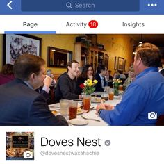 Did we happen to mention that the Mark Z ate in our restaurant?  In Texas, it ain't braggin if it's true.  #markzuckerberg #dovesnest #waxahachie #restaurant #heateatdovesnest