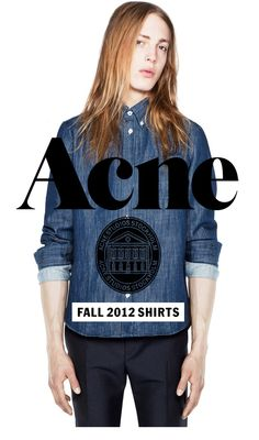 Shop Fall 2012 Shirts | Erik Andersson for Acne