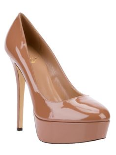 SEMILLA SCARPE DONNA Platform Pump. Olivia inspires me to invest in a brown girl friendly nude pump!