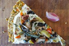 Green Olive & #Mushroom Pizza 15 Mushroom #Pizza #Recipes | Yummy Recipes