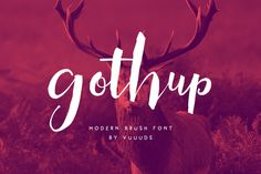 Gothup by vuuuds on Creative Market