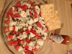 """Lionfish Ceviche Gets a Delicious Mexican Makeover in """"Pico de León"""" Low Carb Recipes, Snack Recipes, Snacks, Mexican Beer, Ceviche Recipe, Sustainable Seafood, Local Seafood, Roatan, Food Ideas"""