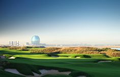 YAS LINKS ABU DHABI, UAE: The newest golf course in the UAE, Yas Links sits on the Persian Gulf and has over 100 bunkers.