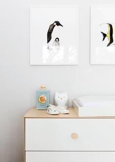 Design contemporain pour une jeune famille