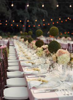 wedding centerpiece idea; photo: Liz Banfield