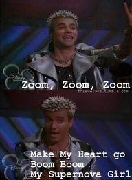 Zoom, zoom make my heart go boom boom! Aaaaaaaahhh I remember this!