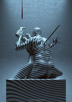 Adam Martinakis digital art: To the point of no return - 2012