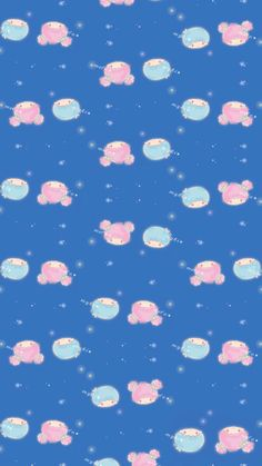 My Melody Wallpaper, Sanrio Wallpaper, Star Wallpaper, Hello Kitty Images, Kawaii Doll, Star Party, Little Twin Stars, Aesthetic Wallpapers, Twins