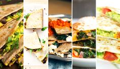 You can put just about anything in a quesadilla! Here are five healthy and delicious quesadilla recipes.   Be Well Philly