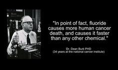 Fluoride causes cancer.