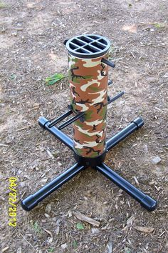 Archery arrow and bow holder 3 abs tubing for arrows for Pvc ground blind plans