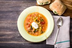 Wärmende mediterrane Gemüsesuppe