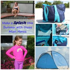 10 Summer Must Haves For Families:  Spring is here and Summer is just around the corner.  I had to evaluate that I had everything I need to make summer not only fun, but SAFE. So, I came up with these Summer Must-Haves.  There are must-haves for the kids, for families, and they are all to ensure that you have as much fun as possible this Summer!