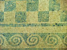 Ancient Roman Mosaic Patterns | Phoenician, Greek & Pre-Christian Roman Empire: Ancient Crete and the ...