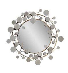 Bassett Mirror Company Modern Decorative Round Wall Mirror BM-M3278B $345.00