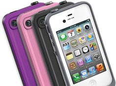 Sleek waterproof Apple iPhone Cases: LifeProof (if you let your kids play with your phone... or if you have kids period. I drop my phone all the time when I'm wrangling my kids).