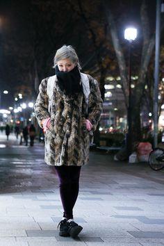 furry coat ... 20 years old   January 2013   #Fashion #Harajuku (原宿) #Shibuya (渋谷) #Tokyo (東京) #Japan (日本)