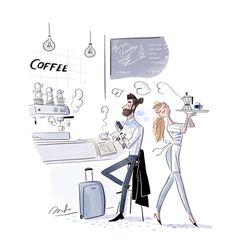 illustration magalie F moustache.jpg - Magalie F | Virginie