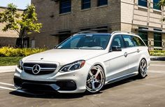There are a lot of new cars on the market today that we really like, but there are very, very few that we truly lust after. Fortunately for the Mercedes-Benz AMG S-Model Wagon, it. E63 Amg Wagon, E63 Amg S, My Dream Car, Dream Cars, Supercars, Mercedes Benz E63 Amg, Merc Benz, Sports Wagon, Daimler Ag