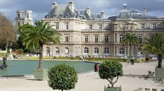 Luxemburg Garten Parten in Paris