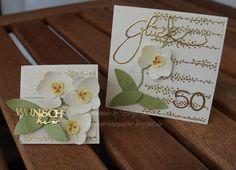 Orchideen zur Goldenen Hochzeit
