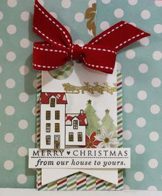 sincerely yours papertrey ink october blog hop diy christmas cards xmas cards christmas - Christmas Tags Handmade