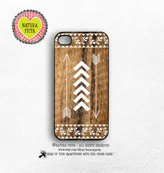 Bohemian tribal arrows iphone case 4/4S-iphone by naturapicta