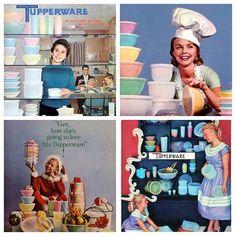 Vintage Tupperware Ads