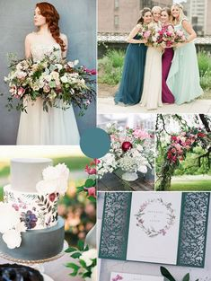 7 Amazing Summer Wedding Color Combos for a Memorable Big Day emerald green and berry pink summer wedding colors August Wedding Colors, Summer Wedding Colors, Spring Wedding, Pink Summer, Pink Green Wedding, Summer Time, Wedding Themes, Wedding Decorations, Wedding Dresses