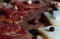 Prato Portugues (Portuguese Cured Meat - Presunto, Paio and Cheese Platter) @Wine & Bread Portuguese Restaurant - Cafe - Tapas Bar