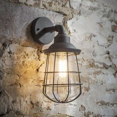 Outdoor Lighting, Outside Lights, Outdoor Wall Lights & Exterior lighting Exterior Wall Light, Exterior Lighting, Exterior Stairs, Industrial Light Fixtures, Industrial Lighting, Industrial Style, Light Fittings, Outdoor Wall Lighting, Outdoor Walls