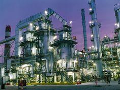 Port Arthur Texas Oil Refinery