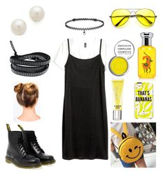 """""""90s 2"""" by colesumler on Polyvore featuring BERRICLE, Dr. Martens, Kenneth Jay Lane, La Preciosa, Ralph Lauren, Obsessive Compulsive Cosmetics, Victoria's Secret and Kate Spade"""