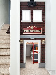 Fire Station Playroom