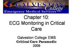 ch10  by rprue via authorSTREAM Emergency Medical Services, Power Points, Critical Care, Galveston, Presentation, Education, Onderwijs, Learning, Electrical Outlets