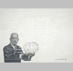 Richard Buckminster Fuller (1895-1983) dedicó su vida a la investigación en las ramas de la arquitectura, la ciencia y la ingeniería, y al desarrollo de su estructura más característica: la cúpula geodésica.