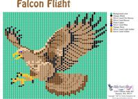 Falcon Flight Pattern or Bead Graph for Beading