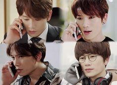 [ Kill Me Heal Me ] Ji Sung as Cha Do Hyun and his 4 personalities from developed dissociative identity disorder [GIF]   such an amazing actor #kdrama