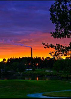 Idlewild Golf Course - Sudbury, Ontario - Alex Filion Sudbury Canada, Manitoulin Island, N Scale Trains, Recreational Activities, Us Travel, Sunsets, Pittsburgh, Ontario, Parks