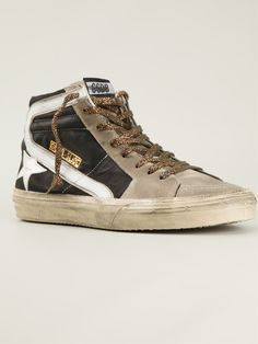 #goldengoosedeluxebrand #goldengoose #ggdb #mens #slide #sneakers #trainers #hitop #mensfashion www.jofre.eu