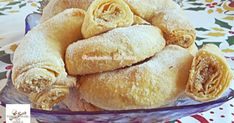 Strudel, Hamburger, Food And Drink, Yummy Food, Sweets, Bread, Recipes, Dios, Small Cake