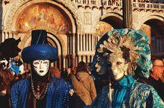 Veneza, Itália - Baile de máscaras