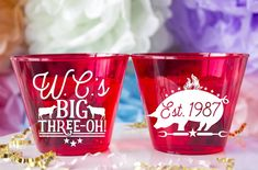 Personalized BBQ Birthday Custom Plastic Cups are such fun to have at your next event! Birthday Bbq, Birthday For Him, Happy Cup, Bbq Party, Personalized Cups, Plastic Cups, Party Cups, Custom Cake Toppers, Birthday Decorations