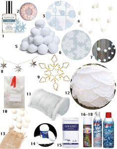 Faux Snow Party: Decor, Menu, Music Apartment Therapy Perfect Party Ideas Guide | Apartment Therapy