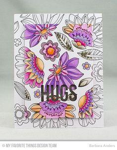 Fancy Flowers Card Kit Inspiration   My Favorite Things   Bloglovin'