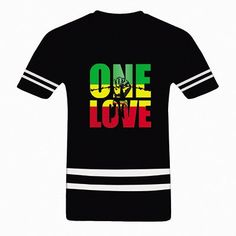 Bob Marley One Love Jamaica Reggae Hip Hop Rap Music Cool Mens T Shirt Plus Size…
