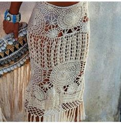 Bohemian Style, Macrame, Summer Outfits, Diy Crafts, Knitting, Dresses, Fashion, Crochet Clothes, Skirts